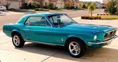 my dream car 1968 Ford Mustang Coupe Hardtop #MonsterTrucks