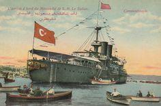 [Ottoman Empire] Mesudiye Ironclad, Istanbul, 1900s (Osmanlı Mesudiye Zırhlısı, İstanbul, 1900'ler)