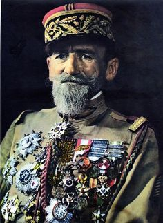 General Paul-Frederic Rollet, the first inspector of the Foreign Legion, responsible for a lot of its culture and traditions.