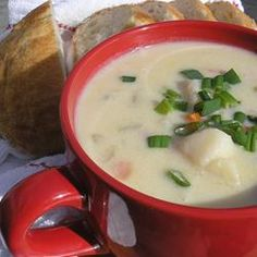 Delicious Ham and Potato Soup.  Fast and easy.