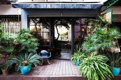 Love the doors to the outdoor space...