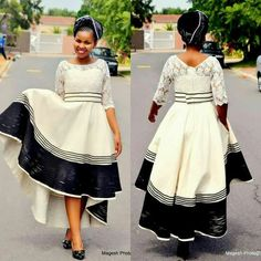 Xhosa traditional outfit