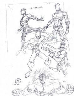 LOOSE SkEtChEzzz by JoeyVazquez.deviantart.com on @DeviantArt