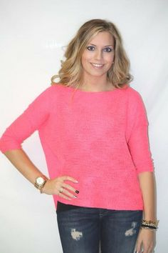 d2ecf052676e Dex Hot Pink Top - BK s Brand Name Clothing