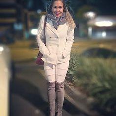 Frio é psicológico, frio é psicológico 🙄🙄😆😅😂❄️⛄️ ❄️ #nénão #congelando #masamando #frioseulindo #dehoje #ootn #brancoecinza #amando #lookofthenight #deumcliquenoseulook