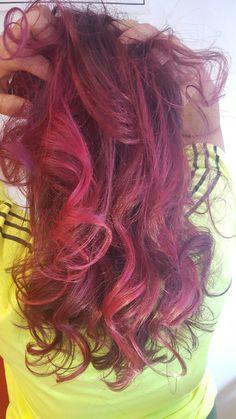 A saga do cabelo rosa rsss - Etapa 5