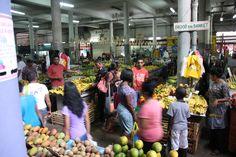 Centrale markt Paramaribo