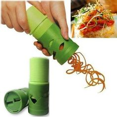 descascador aspiral verduras legumes fatiador cortador