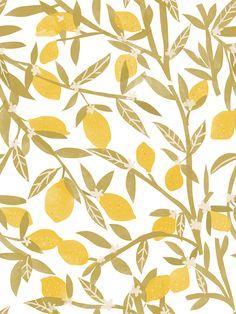 Lemon Pattern by chotnelle