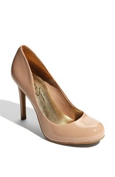 Bridal Shoes - Jessica Simpson 'Calie' Pump Leather upper/synthetic lining  and sole. By Jessica Simpson BP.