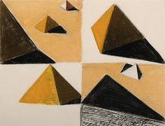 Louis Kahn | Egypt, 1951. Pastel. on something, onsomething