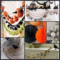 Ideas para una fiesta Halloween elegante, en el blog fiestafacil / Ideas for an elegant Halloween party, in blog.fiestafacil.com
