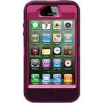 Otter Box iPhone 4 / 4S Defender Series Case (Peony Pink / Deep Plum Slip Cover)