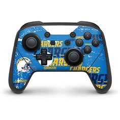 NFL Los Angeles Chargers Nintendo Switch Pro Controller Skin - Los Angeles Chargers - Blast Vinyl Decal Skin For Your Switch Pro Controller  https://allstarsportsfan.com/product/nfl-los-angeles-chargers-nintendo-switch-pro-controller-skin-los-angeles-chargers-blast-vinyl-decal-skin-for-your-switch-pro-controller/  Ultra-Thin, Lightweight Nintendo Switch Pro Controller Vinyl Decal Protection Offically Licensed Peter Horjus NFL Design Industry Leading Vivid Color Vinyl Print Te