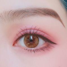 141 trendy eye korean make up asian makeup - page 18 Korean Makeup Look, Korean Makeup Tips, Asian Eye Makeup, Cute Makeup, Makeup Art, Beauty Makeup, Makeup Looks, Ulzzang Makeup, Korea Makeup