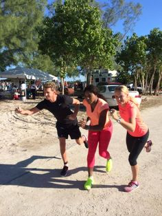 11/9 Rena, Caro, and Paul complete a triathlon! WHAT?!