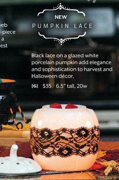 Scentsy Pumpkin Lace Warmer