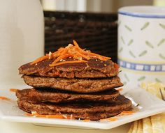 Multiply Delicious- The Food | Carrot Cake Pancakes