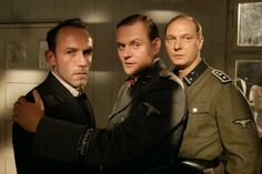 Martin Brambach, Karl Markovics, and Devid Striesow in Die Fälscher Karl Markovics, Kramer Vs Kramer, Mira Sorvino, On Golden Pond, The English Patient, Saving Private Ryan, Sophie's Choice, Schindler's List, Last Emperor