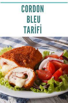 Cordon BLEU Tarifi Turkish Recipes, Ethnic Recipes, Turkish Delight, Salmon Burgers, Chicken, Food, Essen, Meals, Yemek