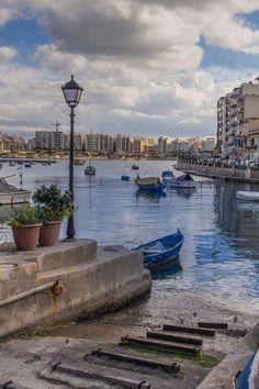"""Malta - Sliema Bay""                                                                                                                                                                                 More"