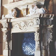 Our stone fireplace surrounds are limited only by creativity, so don't settle for a plain surround when you can get a unique, custom fireplace.
