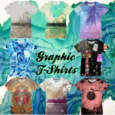 Graphic T-Shirts by stine1online on Polyvore featuring Mode, Graphic, fashiontrend and nuvango