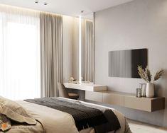 Hotel Bedroom Design, Master Bedroom Interior, Bedroom Closet Design, Bedroom Furniture Design, Home Room Design, Home Decor Bedroom, Home Interior Design, Tv In Bedroom, Modern Luxury Bedroom