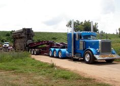 Very sharp Peterbilt with flip up bumper so as to off road a little and not tear it up.