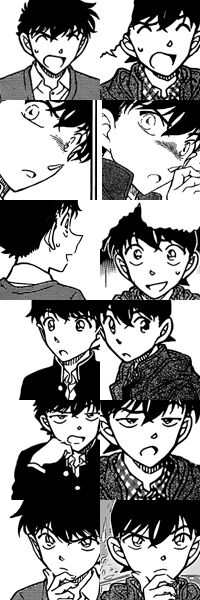 Oh my gosh, they really ARE the same person! -Kaito and Shinichi-