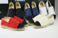 Buy CHANEL ST84092 35-42,woman Fisherman Espadrilles Canvas shoes store