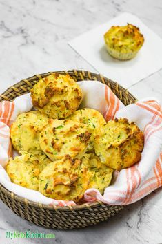 Keto Muffins – Cheddar Cheese & Zucchini