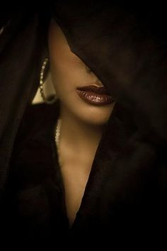 Veil of sensuality.