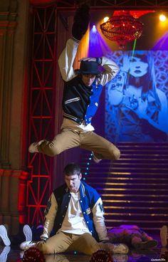"Adam as ""Moose"" in Step Up 5: All In. :)"
