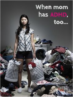 ADHD Tips for Parents: What happens when Mom has ADHD, too? Well, it gets complicated. @OaktreeCounsel