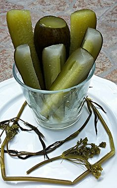 Kovászos uborka Panna Cotta, Ethnic Recipes, Food, Dulce De Leche, Eten, Meals, Diet