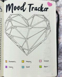 mood tracker inspo