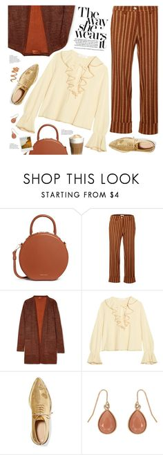 """""""the way she wears it"""" by valentino-lover ❤ liked on Polyvore featuring Mansur Gavriel, JIRI KALFAR, Missoni, See by Chloé, Simone Rocha, Beauty Secrets, Accessorize and Produkt"""