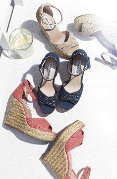 Summer Essential: Wedge Sandals