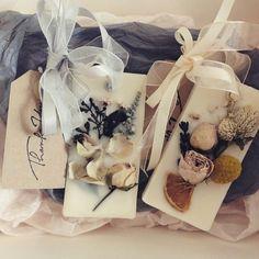 handmade :: wax tablet/flower perfumer