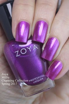 PR SAMPLES     Hey Dolls!     I have the new Zoya Charming Collection  for Spring 2017  to show you today! This six-piece collection is so...