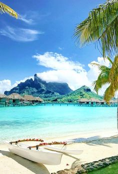 Many couples looking for a beautiful honeymoon beach. See beautiful Greece, incredible Bali, amazing Thailand, Maldives and more on honeymoon images. Bora Bora, Tahiti, Summer Beach Pictures, Beach Photos, Beach Ideas, Honeymoon Pictures, Beach Images, Beach Pink, The Beach