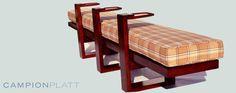 Billiard Bench by Vedere.com  vendor Campion Platt