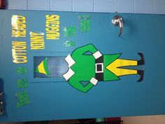 My Elf door