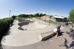 Skate Park, Exterior, Image, Outdoor Rooms