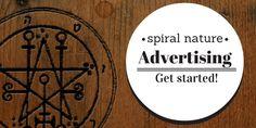 Spiral Nature Advertising