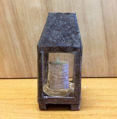 How To Make a Miniature Fall Lantern | The Mini Time Machine Museum of Miniatures