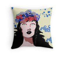 The Madonna Throw Pillows. Soft and durable 100% Spun Polyester cushion cover with an optional Polyester fill/insert Double side/reversible sublimation print for vivid colours Concealed zip opening for a clean look and easy care Custom printed when you order