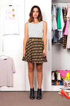 Cool Style, Polka Dots, Fancy, Summer Dresses, Chic, Shopping, Fashion, Shabby Chic, Moda