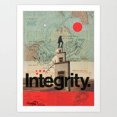 Integrity Art Print by Frank Moth - X-Small